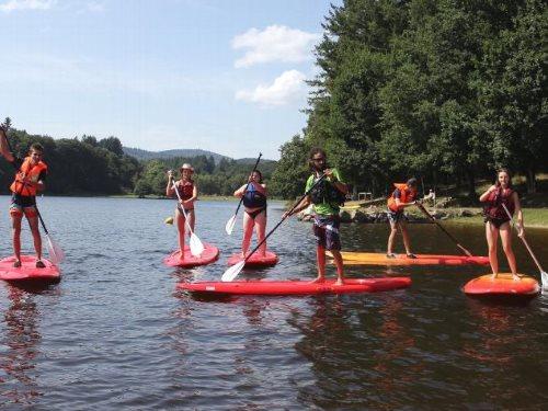 Lac de Séchemailles - Paddle