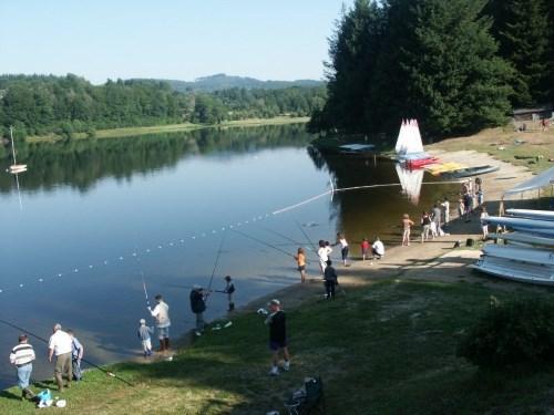 Lac de Séchemailles - Pêche