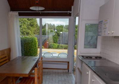 Entrée et cuisine du logement 5 places