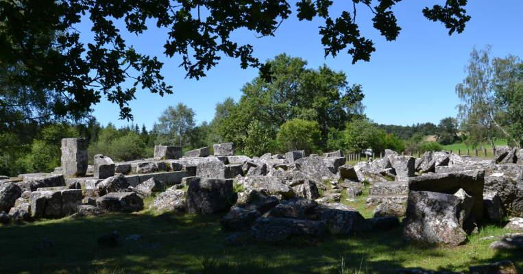 Ruines Gallo-Romaines des Cars